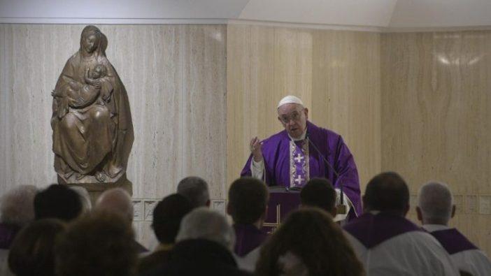 Homili Paus tentang pemberian cuma-cuma dari Allah (Vatican News)