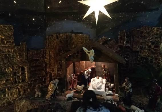 Kandang Natal Paroki KBI