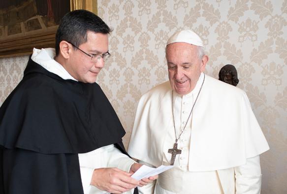 Master Ordo Dominikan dan Paus Fransiskus