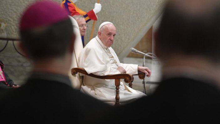 Paus Fransiskus dalam Audiensi Umum di Aula Paulus VI Vatikan 18 Desember 2019 (Vatican Media)