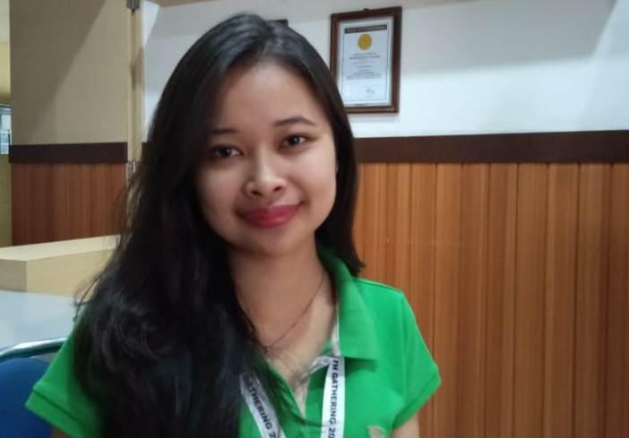 Popy Natalia Agriana, koordinator program Lingkungan Hidup dalam DYG 2020 (PEN@ Katolik/pcp)