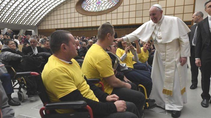 Paus Fransiskus dalam Audiensi Umum di Aula Paulus VI, 29 Januari 2020 (Vatican Media)