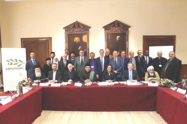 Peserta Forum Inisiatif Agama-Agama Abrahamik  (Istimewa)