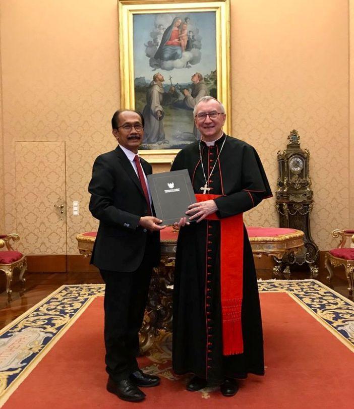 Foto Dokumen KBRI untuk Tahta Sucii Vatikan
