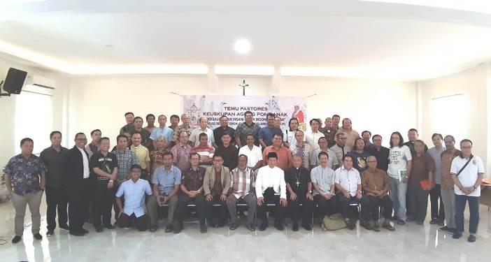 Para Pastores KAP bersama Imam Besar Masjid Istiqlal Jakarta Nazaruddin Umar  (PEN@ Katolik/semz)