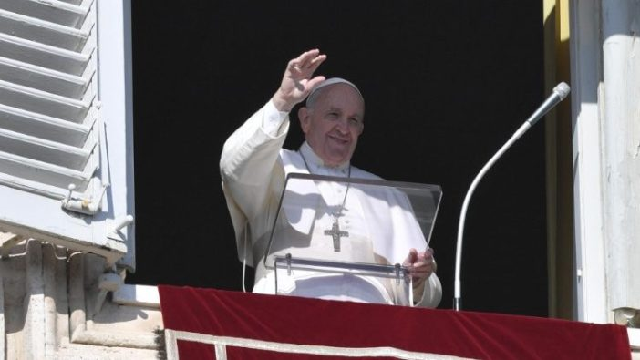 Paus dalam Angelus 12 Januari 2020 (Vatican Media)