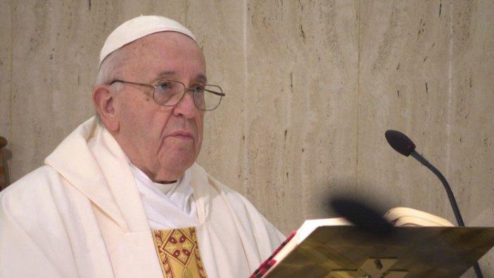 Paus memberi homili dalam Misa di Casa Santa Marta Vatikan (Vatican Media)