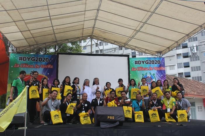 Para guru dan pembina dari Cabang Yogyakarta, Purwokerto dan Cirebon (PEN@ Katolik/pcp)