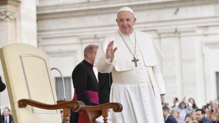Paus Fransiskus dalam Audiensi Umum 26 Februari 2020