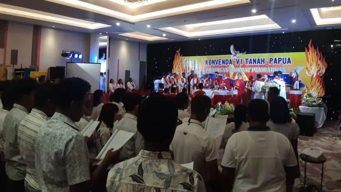 Suasana Misa Konvenda VI (PEN@ Katoliki/vb)