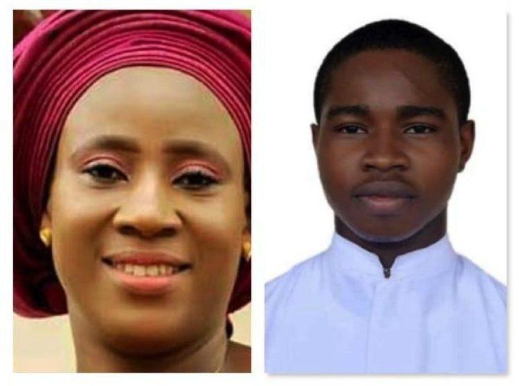 Nyonya  Philip Ataga dan Michael Nnadi yang dibunuh oleh penculik mereka.   (foto dari pmnewsnigeria.com)