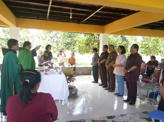 Pelantikan Dewan Regio OFS Papua yang baru (PEN@ Katolik/dl)