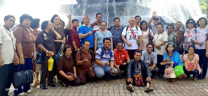 Peserta Kapitel OFS Regio Santo Fransiskus Pencinta Lingkungan Papua (PEN@ Katolik/dl)