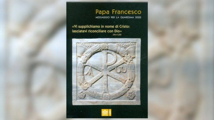 Pesan Masa Prapaskah 2020 Paus Fransiskus