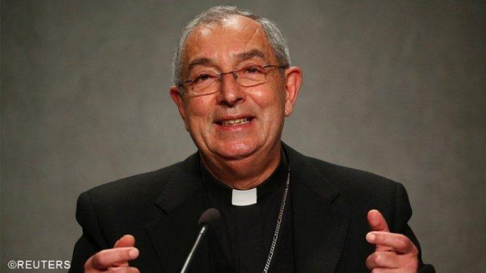 Kardinal Angelo De Donatis, Vikaris Jenderal Paus Fransiskus untuk Keuskupan Roma