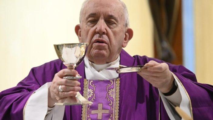 Paus Misa Casa Santa Marta 29 Maret 2020