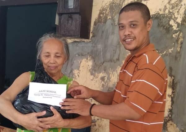 Aksi Sosial Paroki Bongsari Semarang (PEN@ Katolik/lat)