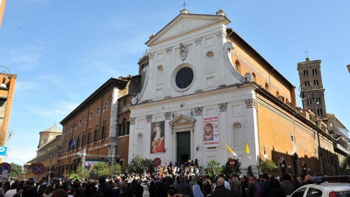 Di Gereja Roh Kudus Roma ini , Paus Fransiskus akan rayakan Minggu Kerahiman Ilahi 19 April 2020