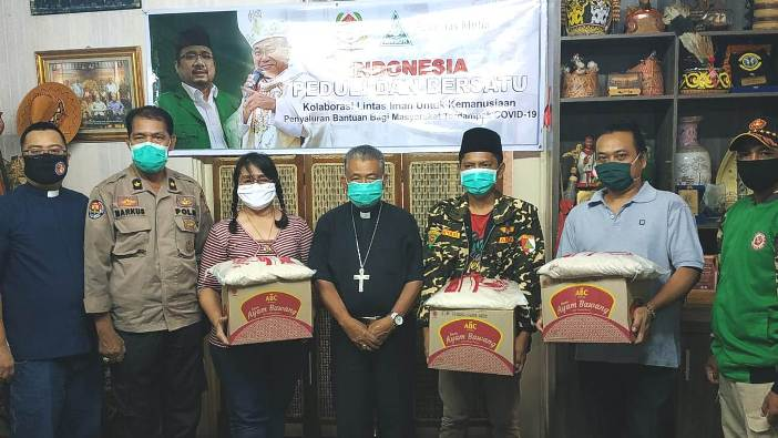 Indonesia Bersatu dan Peduli di Pontanak