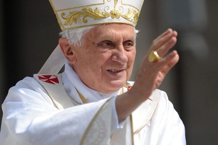 Paus emeritus Benediktus XVI (Vatican Media)