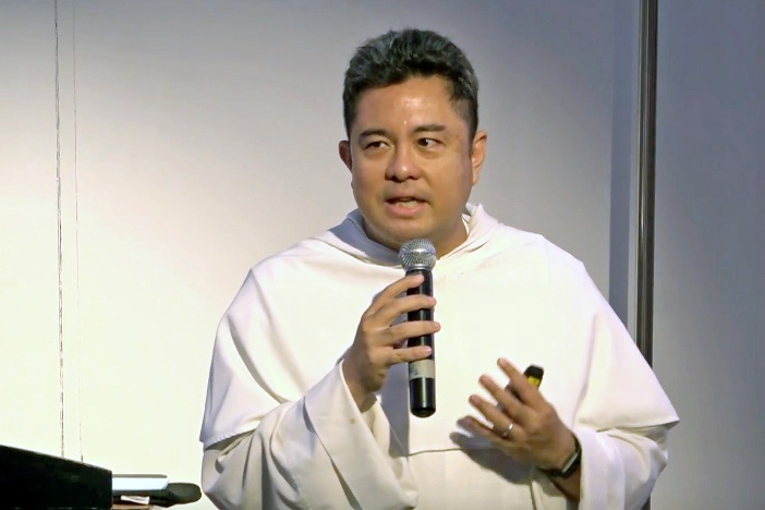 Pastor Nicanor Austriaco OP. SCREENSHOT/UST YOUTUBE ACCOUNT