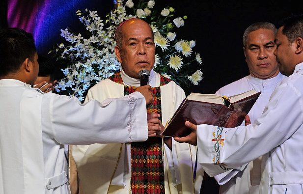 Ketua Konferensi Waligereja Filipina Uskup Agung Romulo Valles (Foto CBCPNews)