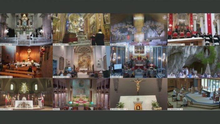 Tempat-Tempat Ziarah Maria yang terhubung dalam Doa Rosario bersama Paus