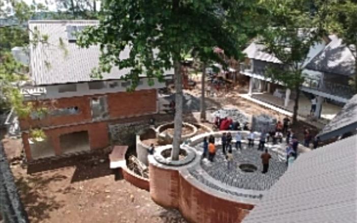 Eco Circle yang disumbangkan oleh Sandjaya