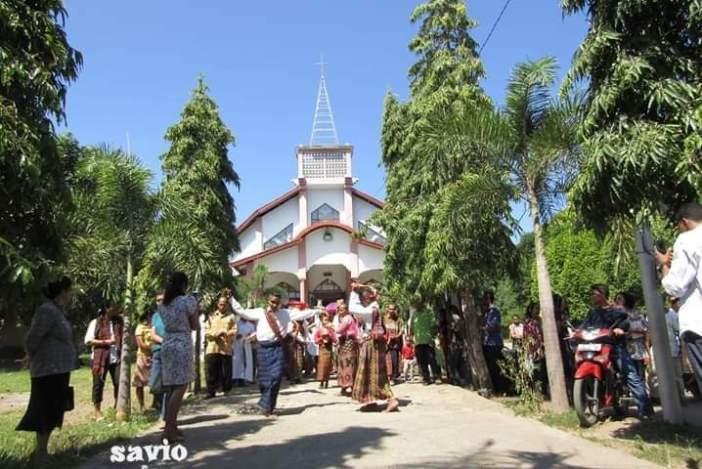 Gereja Paroki Misir (Dokumentasi OMK Paroki Misir)