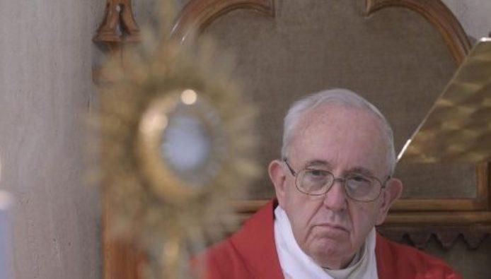 Paus dalam Misa 14 Mei 2020 di Casa Santa Marta, Vatikan (Media Vatican)