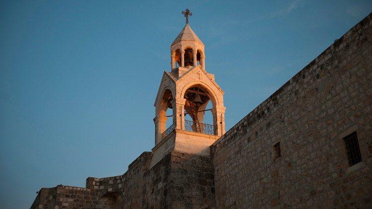 Basilika Kelahiran di Bethlehem (Vatican News)