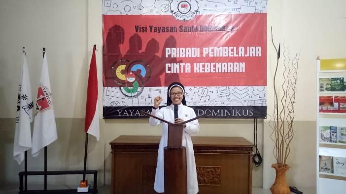 Ketua Badan Pengurus Yayasan Santo Dominikus (YSD) Suster Albertine OP
