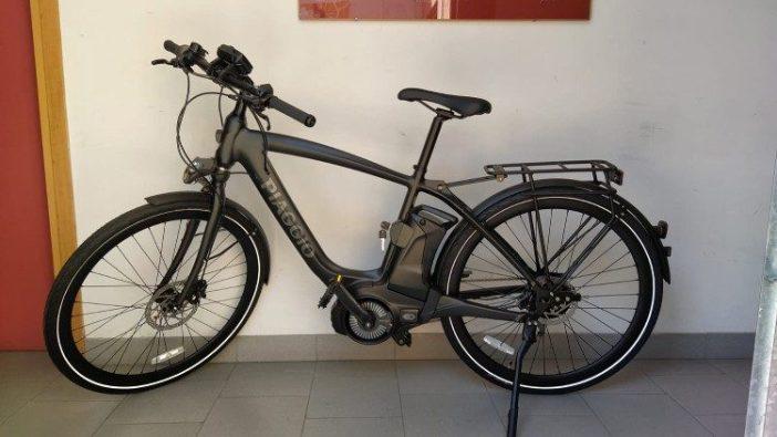 Sepeda listrik yang disumbangkan Paus Fransiskus kepada UNITALSI