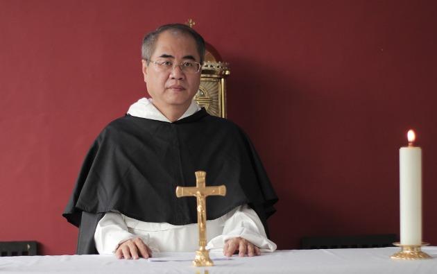Ketua Dewan Pengurus Yayasan Landak Bersatu Pastor Johanes Robini Marianto OP