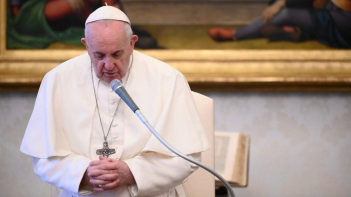 Paus dalam Audiensi Mingguan 24 Juni 2020 (Vatican Media)