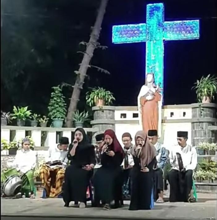 Kegiatan lintas agama lainnya di Plaza Perdamaian Gereja Bongsari Semarang