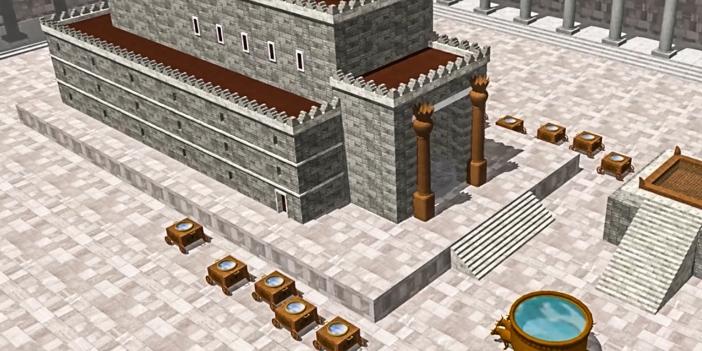 Dimensi-dimensi Kapel Sistina sama dengan Bait Solomon seperti digambarkan dalam Perjanjian Lama