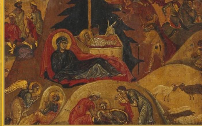 Kelahiran Kristus, Biara Santa Katarina, Gunung Sinai, abad VI