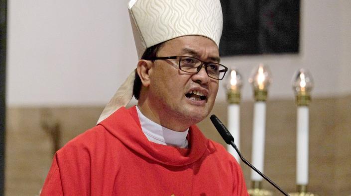 Uskup Kalookan Mgr Pablo Virgilio David. CBCPNEWS