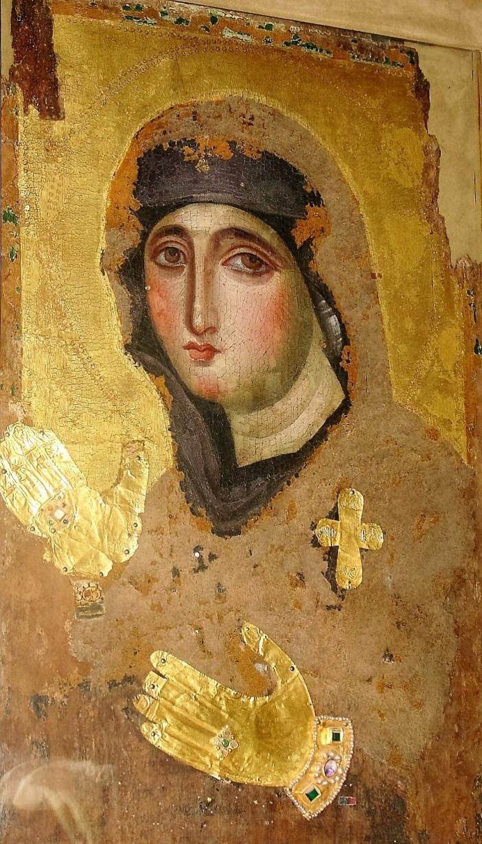 Agiosoritissa (Bunda Allah), Konstantinopel, abad VII