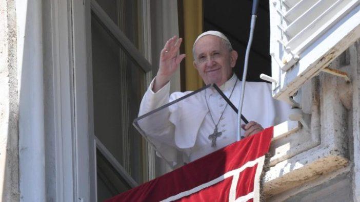 Paus dalam Angelus 5 Juli 2020