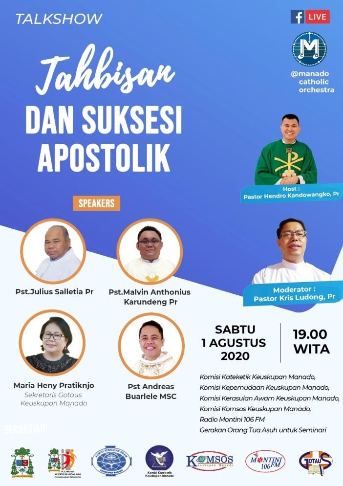 Talkshow Tahbisan 2