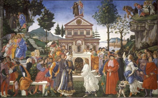 Tentaciones_de_Cristo_Botticelli 1