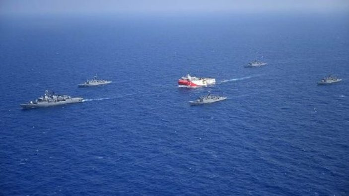 Ketegangan di laut Mediterania