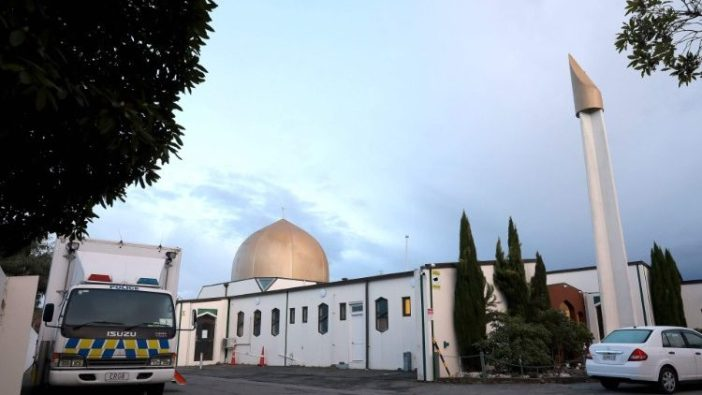 Mesjid di Selandia Baru yang diserang (AFP)