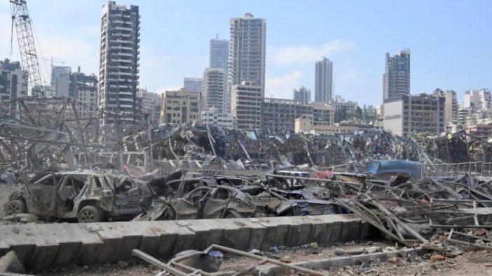 Pasca ledakan Pelabuhan Beirut 4 Agustus 2020 (ANSA)