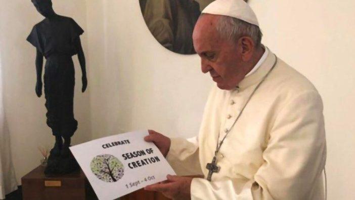 Paus Fransiskus rayakan Musim Ciptaan tahun-tahun lalu