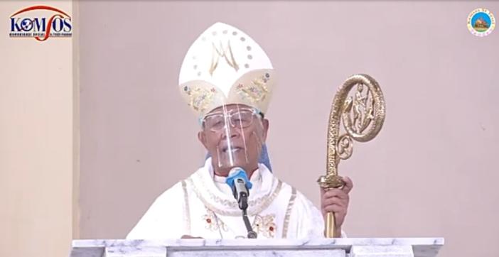 Administrator Apostolik Keuskupan Sibolga Mgr Anicetus Bongsu Antonius Sinaga OFMCap
