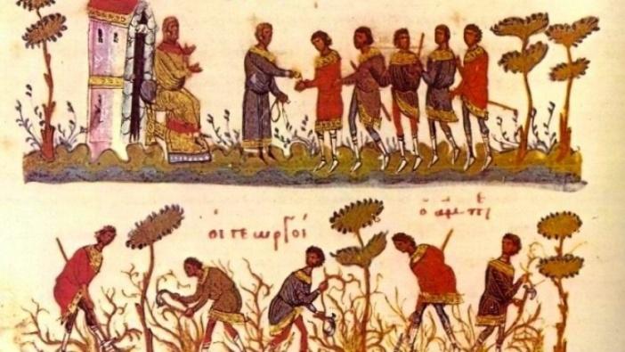 Para pekerja di ladang