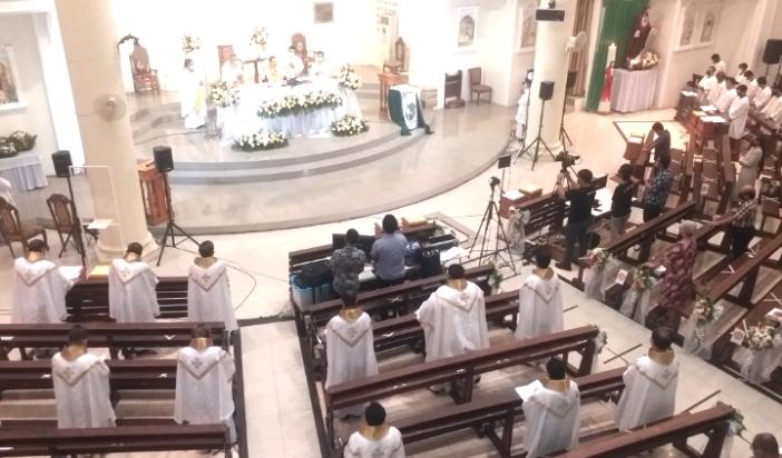 Misa Syukur MSC di Sulawesi (PEN@ Katolik/A Ferka)